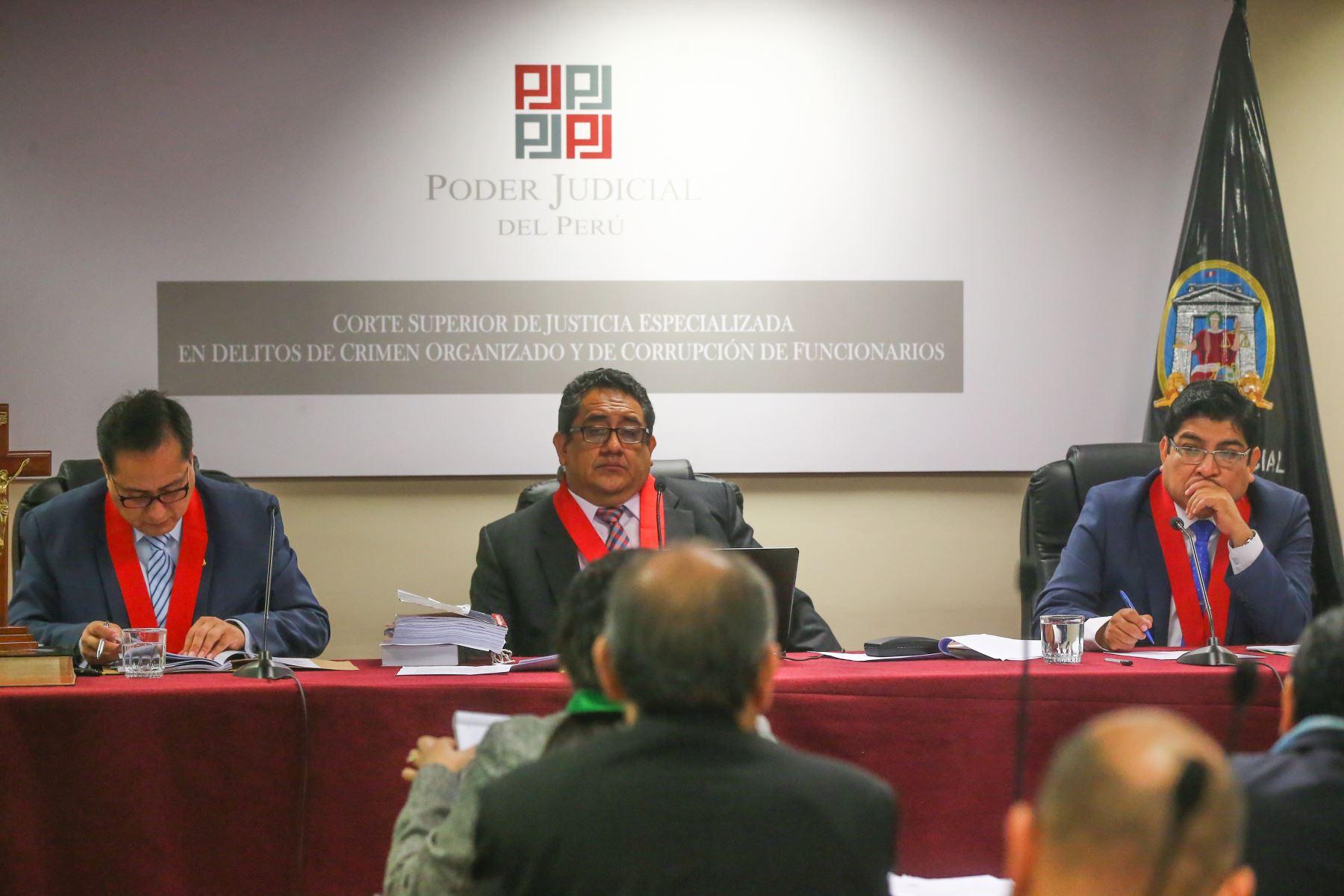 Audiencia de apelación interpuesta por la defensa de Luis Nava contra el auto que declaró fundado el requerimiento de prisión preventiva por el plazo de 36 meses. Foto: ANDINA/ Hector Vinces