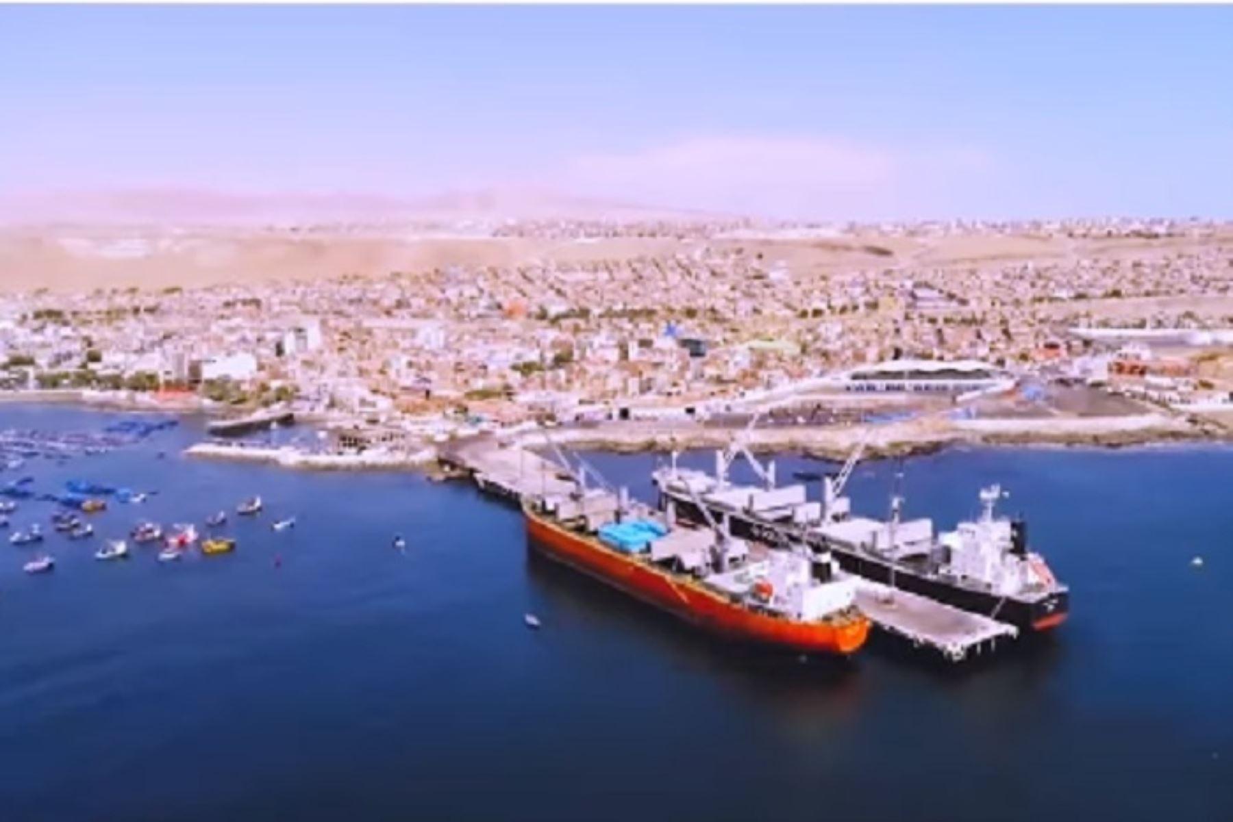 Terminal portuario multipropósito dinamizará la economía regional. ANDINA/Difusión