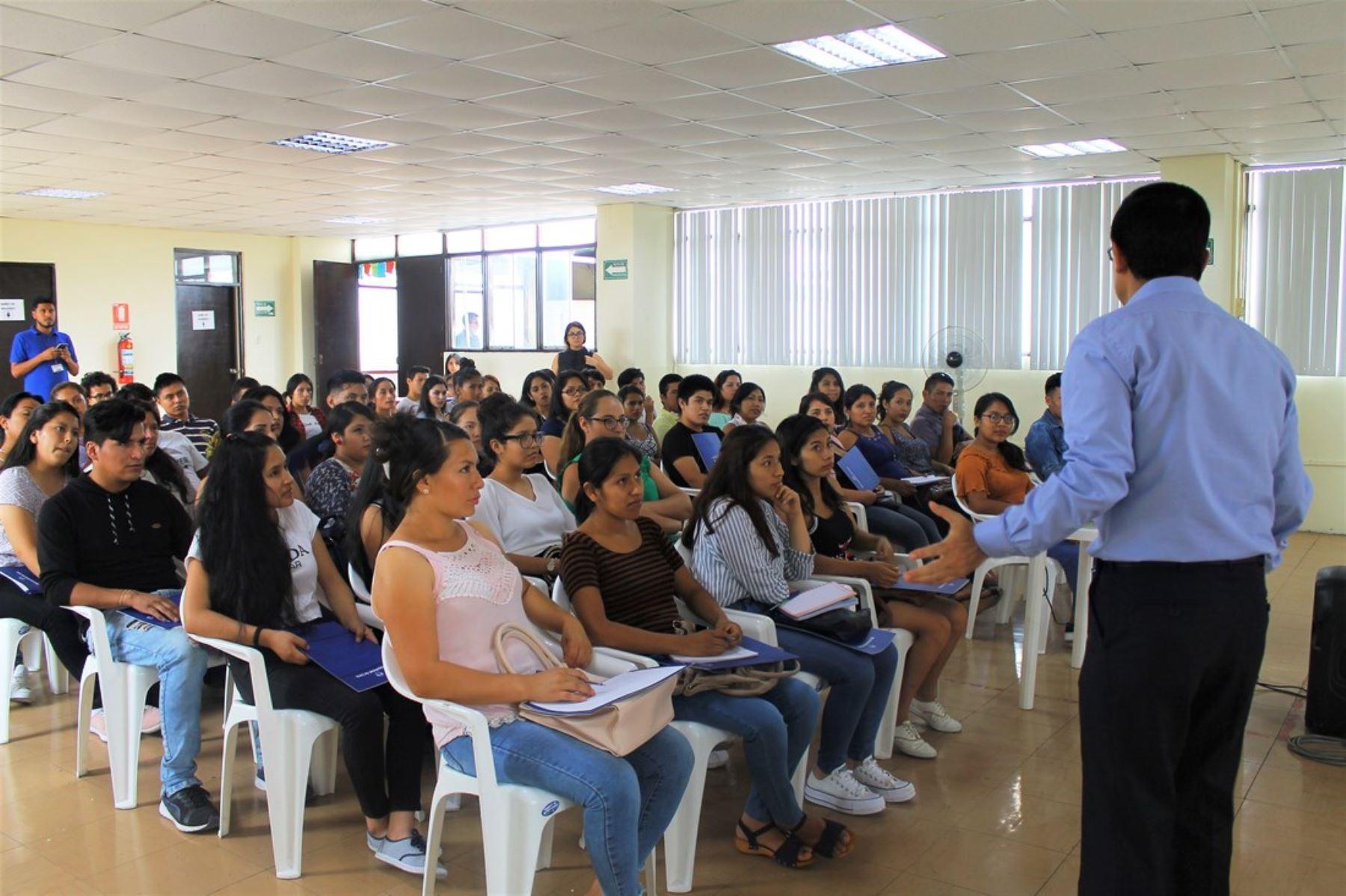 Jóvenes de Lima Norte acceden a cursos técnicos con demanda laboral. Foto: ANDINA/Difusión.