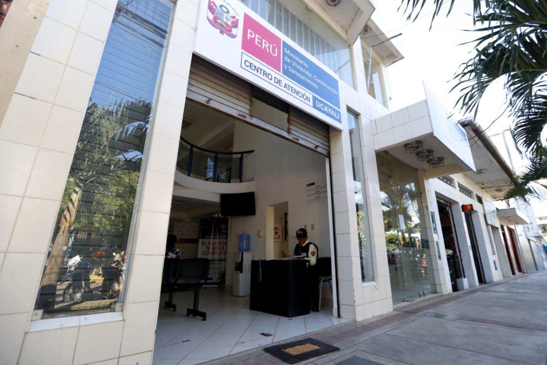 Centro de Atención al Ciudadano en Ucayali