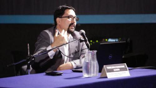 Director de la Dirección del Audiovisual, la Fonografía y los Nuevos Medios, Pierre Emile Vandoorne
