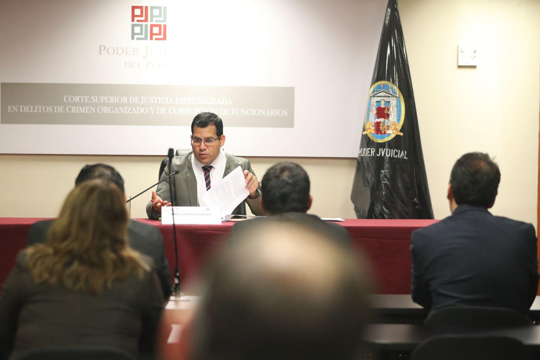 Se dictamina 18 meses de prisión preventiva para Jose Miguel Castro.  Foto: ANDINA/Melina Mejía