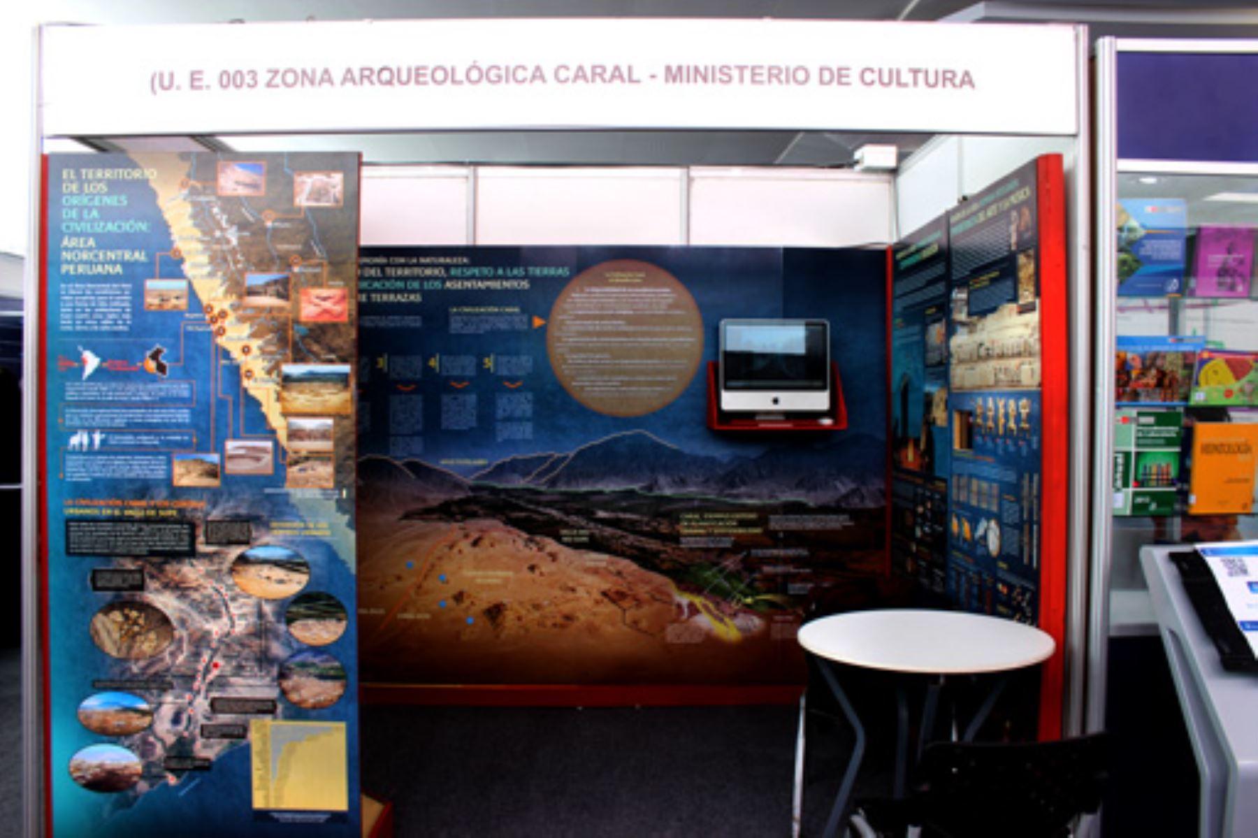 La Zona Arqueológica Caral (ZAC) participará, este fin de semana, en la 26ª edición del Perú Travel Mart.