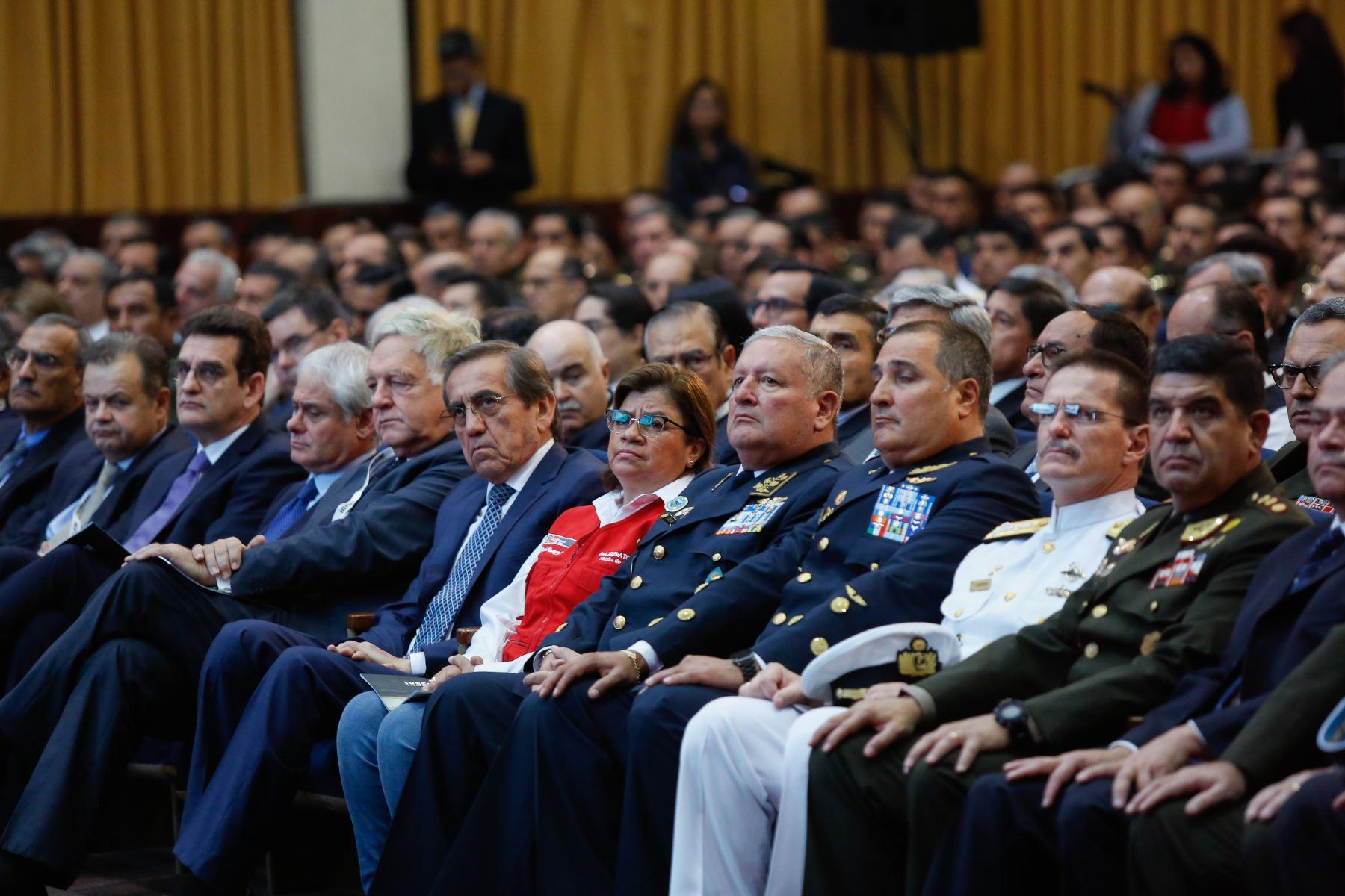 Presidente Martín Vizcarra inaugura el VII Salón Internacional de Tecnología para la Defensa y Prevención de Desastres – SITDEF 2019. Foto: ANDINA/ Prensa Presidencia