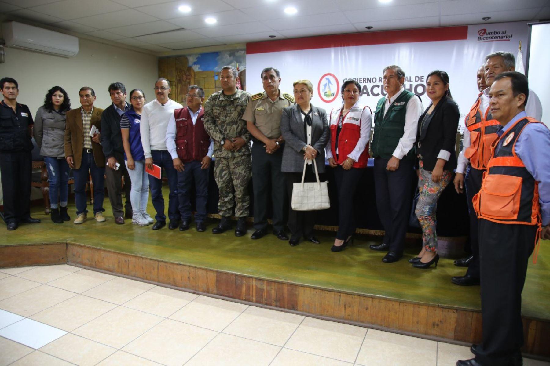 Ayacucho: presentan Plan Regional para la Intervención ante Heladas y Friaje 2019
