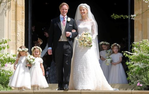 Boda en la realeza británica: lady  Windsor y Thomas Kingston