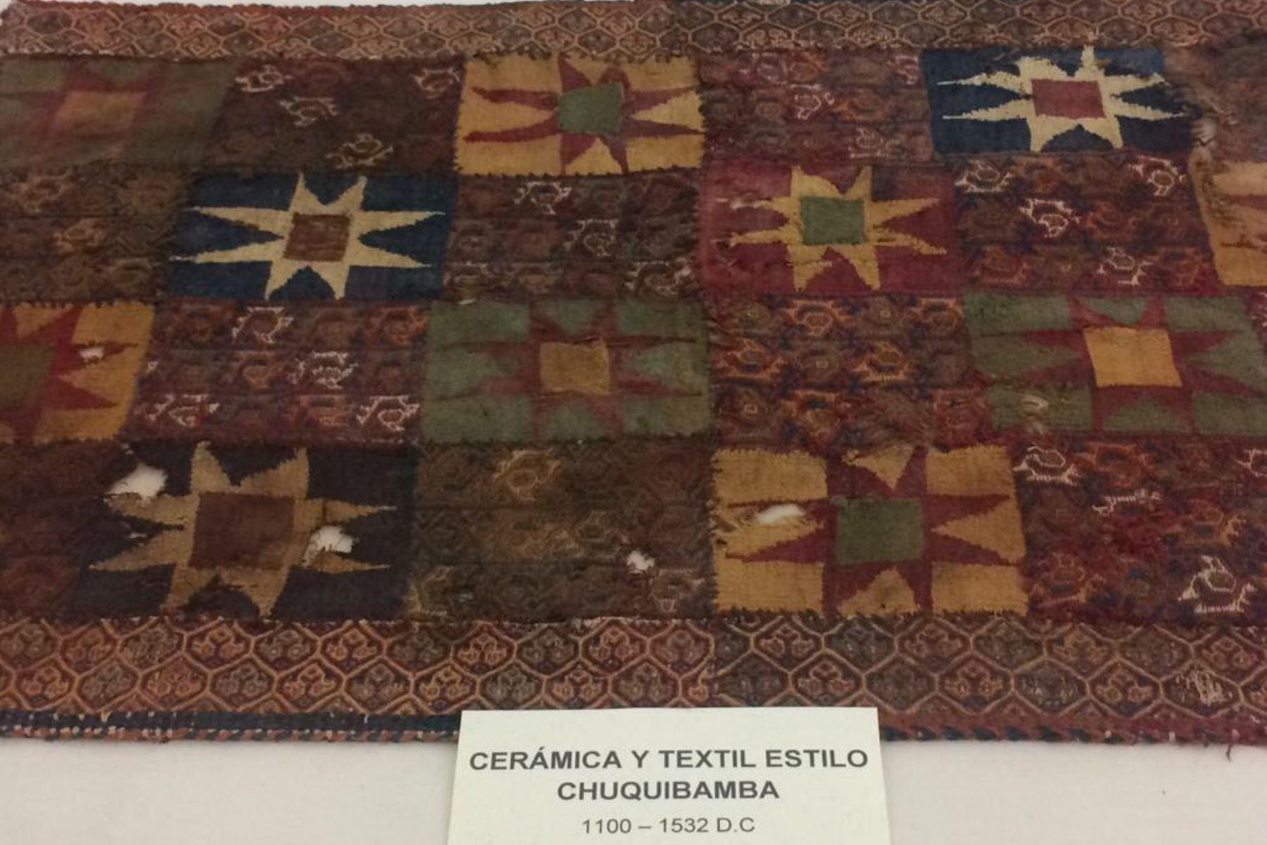 Día Internacional de los Museos: exhiben muestra de tejidos prehispánicos en el Museo de la Universidad Nacional San Agustín de Arequipa.