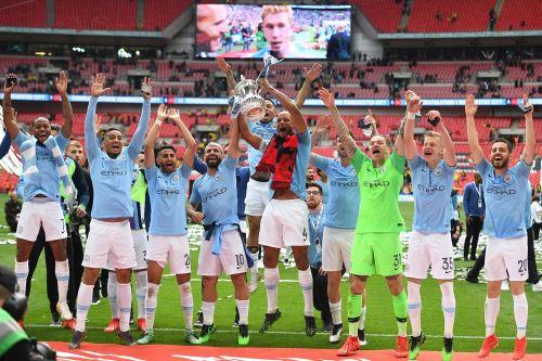 Manchester City campeonó en la FA Cup. Foto:AFP.