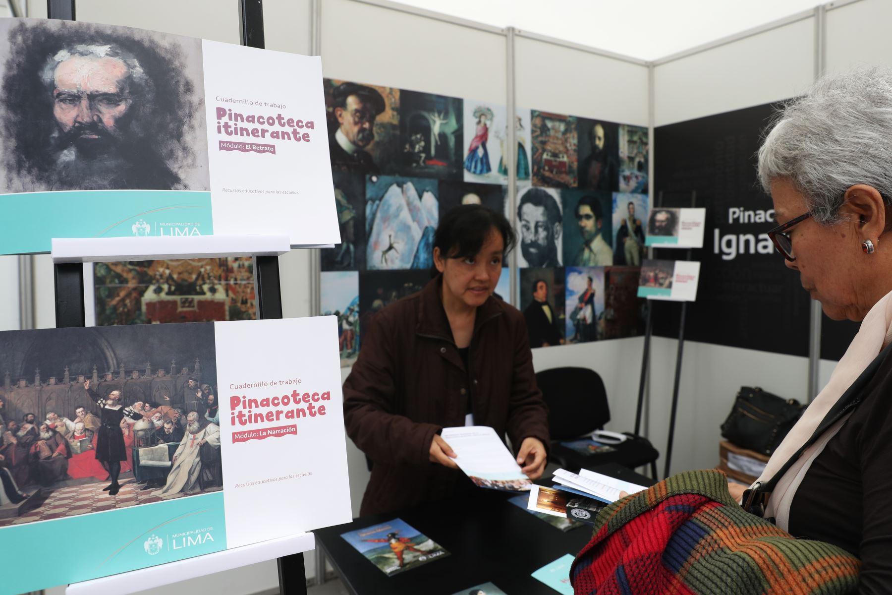 XVII Feria Museos a tu alcance muestra al publico la Red de Museos del Centro Histórico de Lima. Foto: ANDINA/Melina Mejía