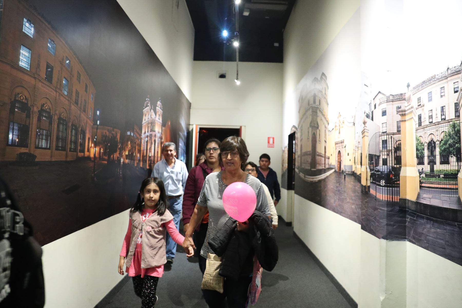Museo Metropolitano abre sus puertas para mostrar la exposición permanente de la Historia de Lima. Foto: ANDINA/Melina Mejía