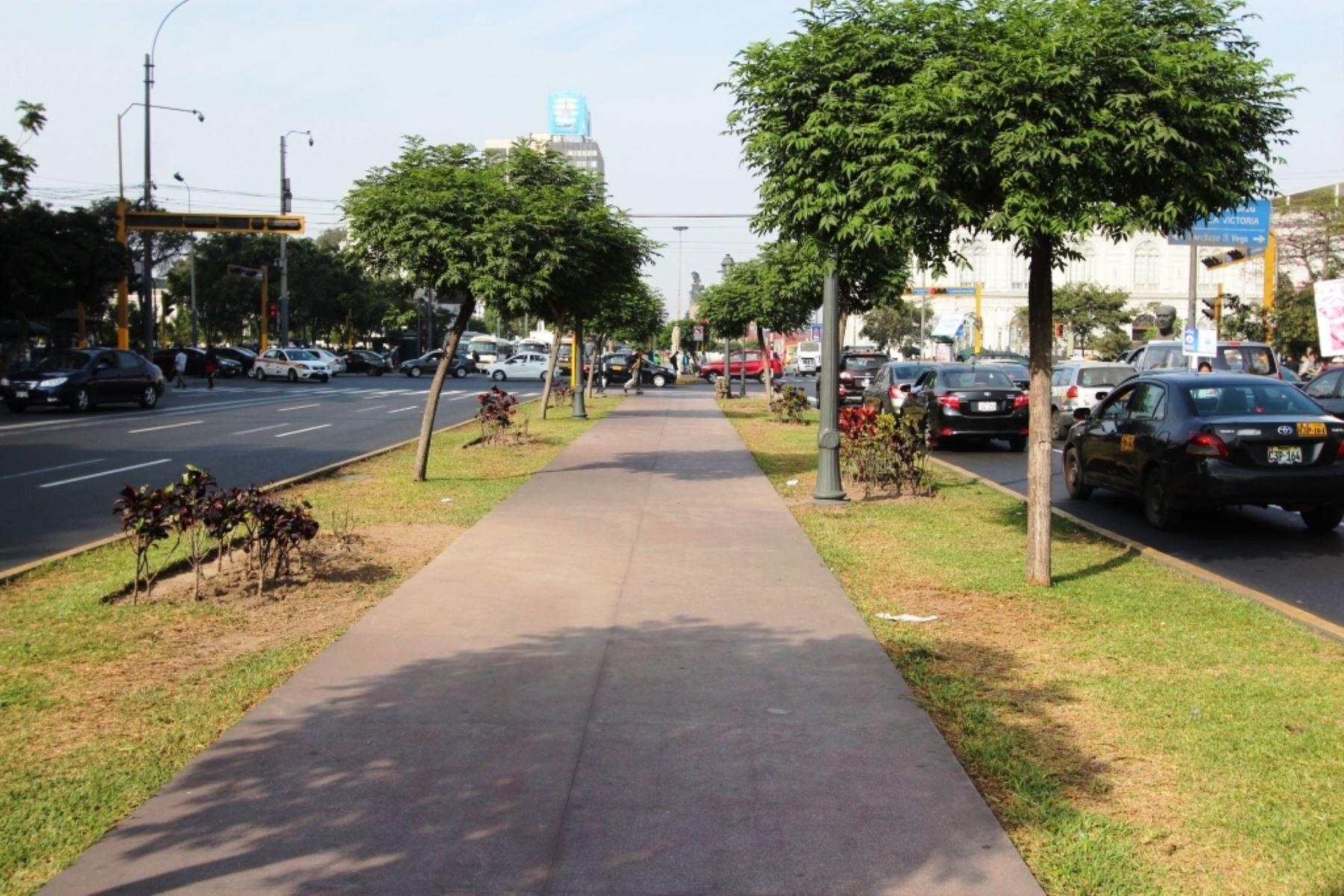 Línea 2 del Metro: restringirán tránsito en av. Paseo Colón por obras. Foto: ANDINA/Difusión.