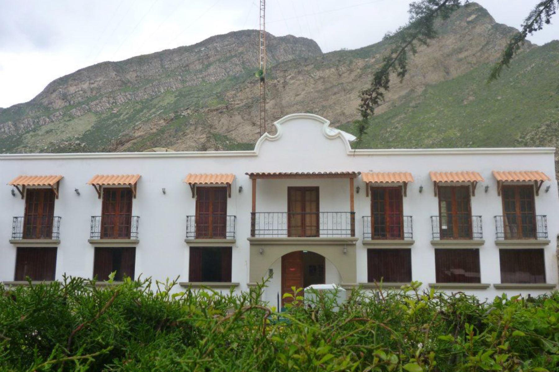 La localidad de Huambo, en Arequipa, fue una de las más afectadas por el sismo de magnitud 4.3 registrada hoy.