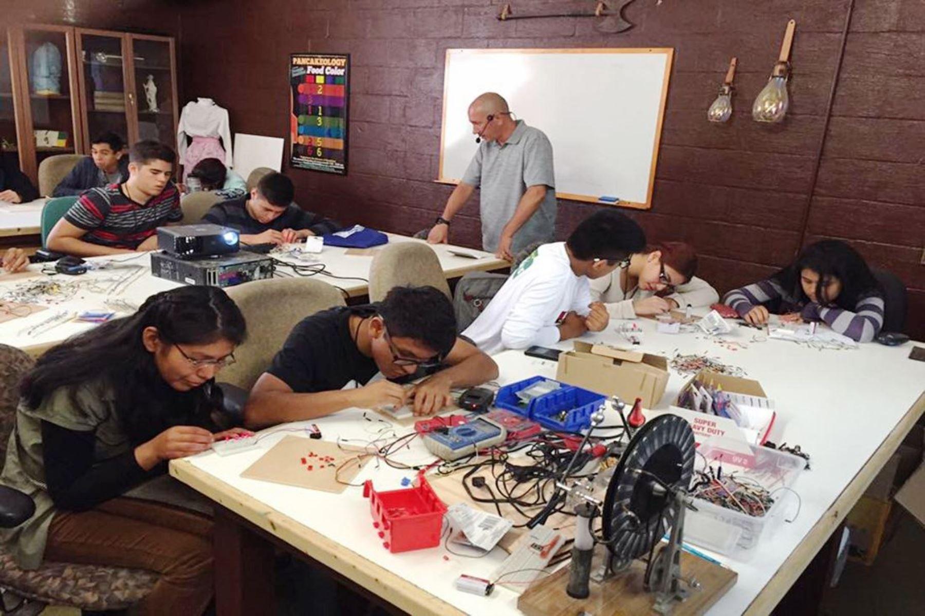 Escolares peruanos participarán en campamento científico en EE. UU. Foto: ANDINA/Difusión.