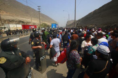 Sedapal culminará trabajos en Lurigancho y Huarochirí. Foto: ANDINA/Héctor Vinces