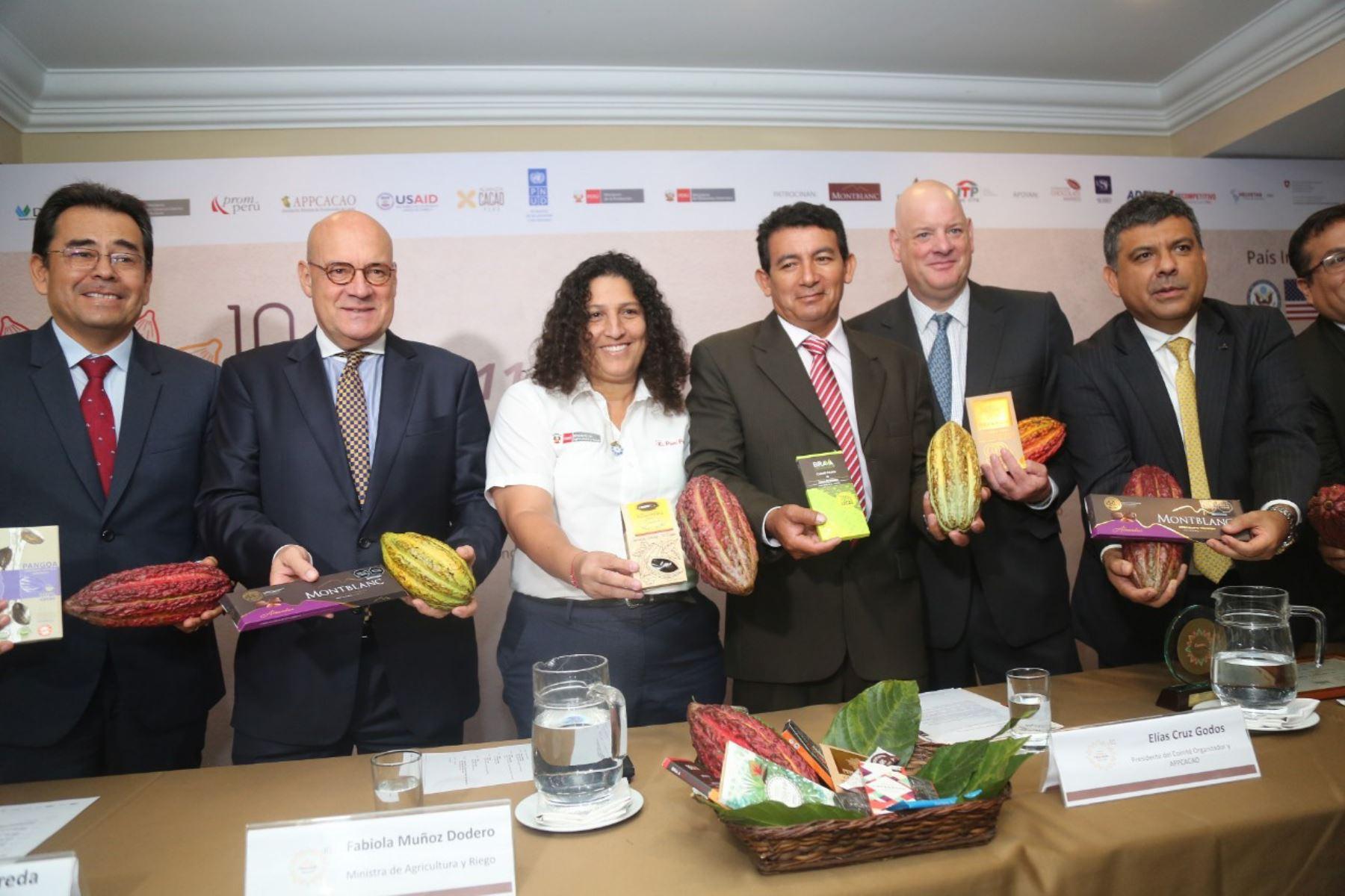 Ministra Fabiola Muñoz lanzó Décima Edición del Salón del Cacao y Chocolate