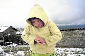 La temperatura más baja se presentará en zonas sobre los 4200 metros de altura, con registros inferiores a -15 grados Celsius. Foto: Los Andes