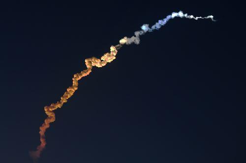 La India lanza un satélite de observación Risat al espacio