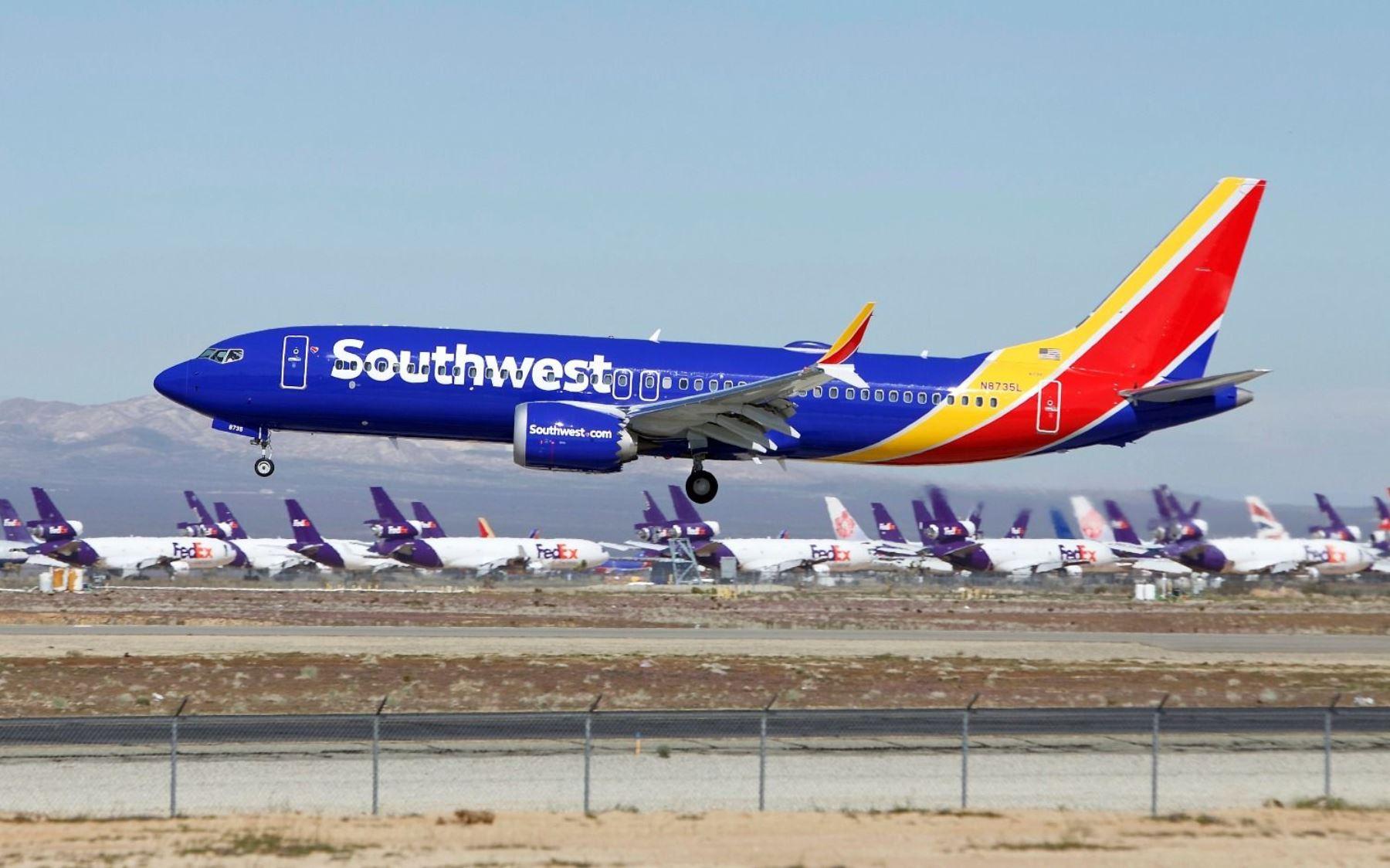 Los 737 MAX 8 de la compañía estadounidense Boeing.