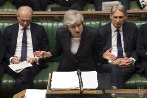 Primera ministra británica, Theresa May. Foto: AFP.