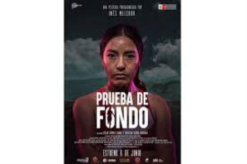 Afiche de la película Prueba de fondo.