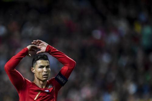 Cristiano Ronaldo. Foto: AFP.