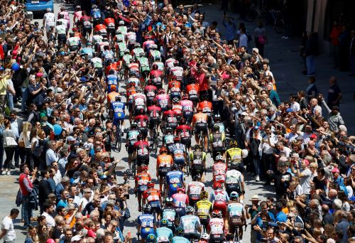 Competencia ciclística en Italia