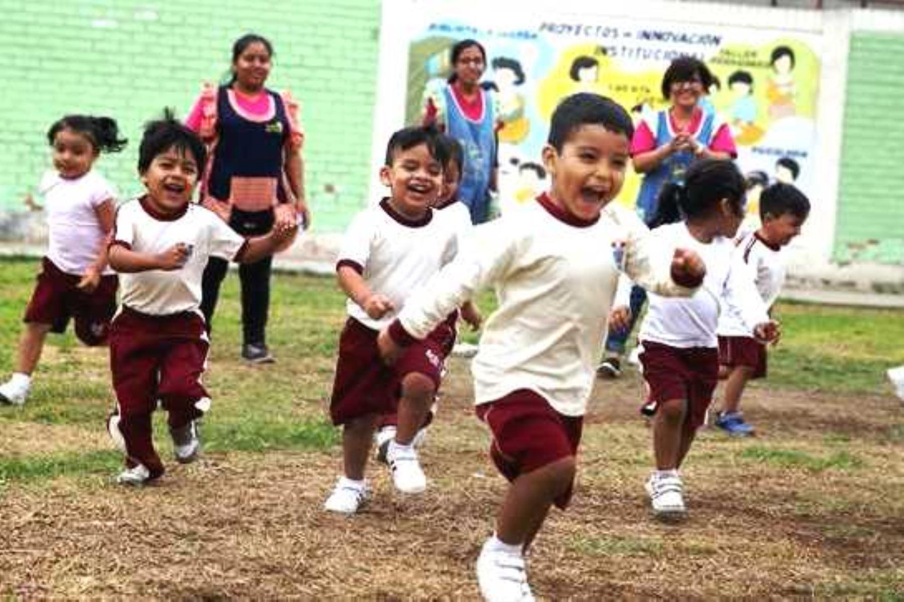 Gobierno lanzará en el 2020 programa presupuestal para la primera infancia. Foto: ANDINA/Difusión.
