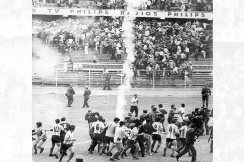 Imágenes: A 55 años de la tragedia en el Estadio Nacional