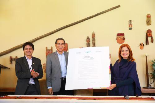 Presidente Vizcarra garantiza que aeropuerto de Chinchero será de gran nivel internacional