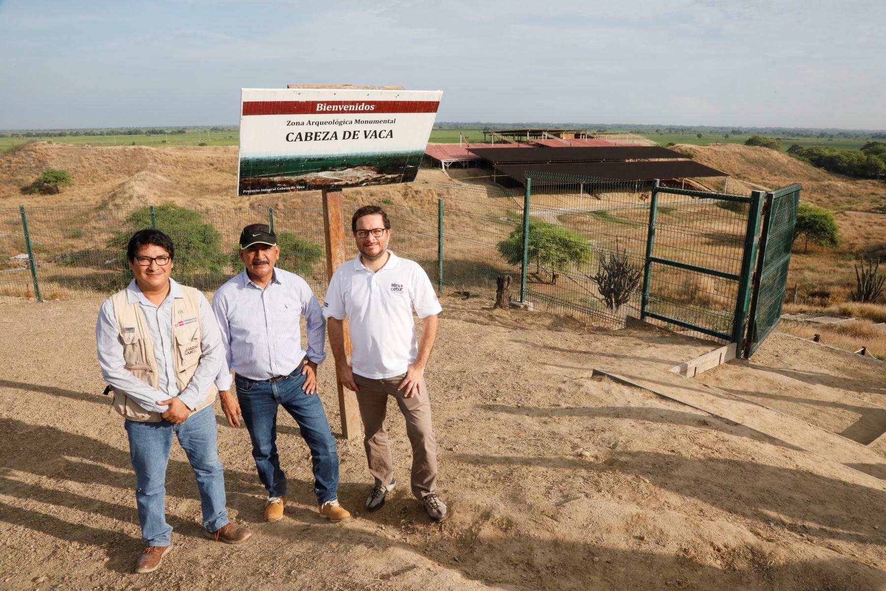 Mincetur resalta el potencial turístico de sitio arqueológico Cabeza de Vaca ubicado en Tumbes. ANDINA/Difusión