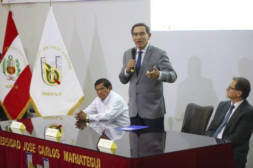 Presidente Vizcarra clausura foro de Seguridad Energética de la Macro Sur y Moquegua: Desarrollo económico y crecimiento inclusivo