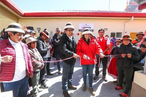 Comunidad de Fuerabamba en Cotabambas, Apurímac, cuenta con servicio Cuna Más en favor de niños entre los 6 y 36 meses