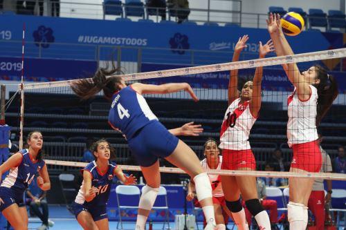 Perú y Chile se enfrentan en cuadrangular internacional de Voley rumbo a Lima 2019
