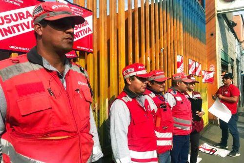 La Victoria: Sutran clausuró 24 empresas de transporte de pasajeros. Foto: ANDINA/Sutran.