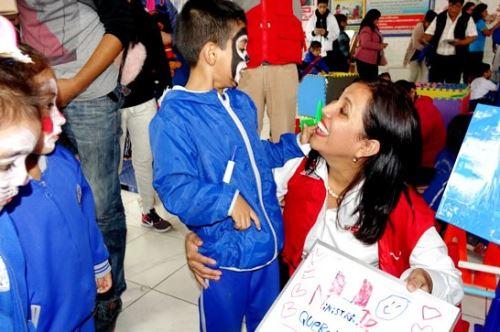 Minedu promueve actividades lúdicas para mejorar la enseñanza de la primera infancia. Foto: ANDINA/Difusión.