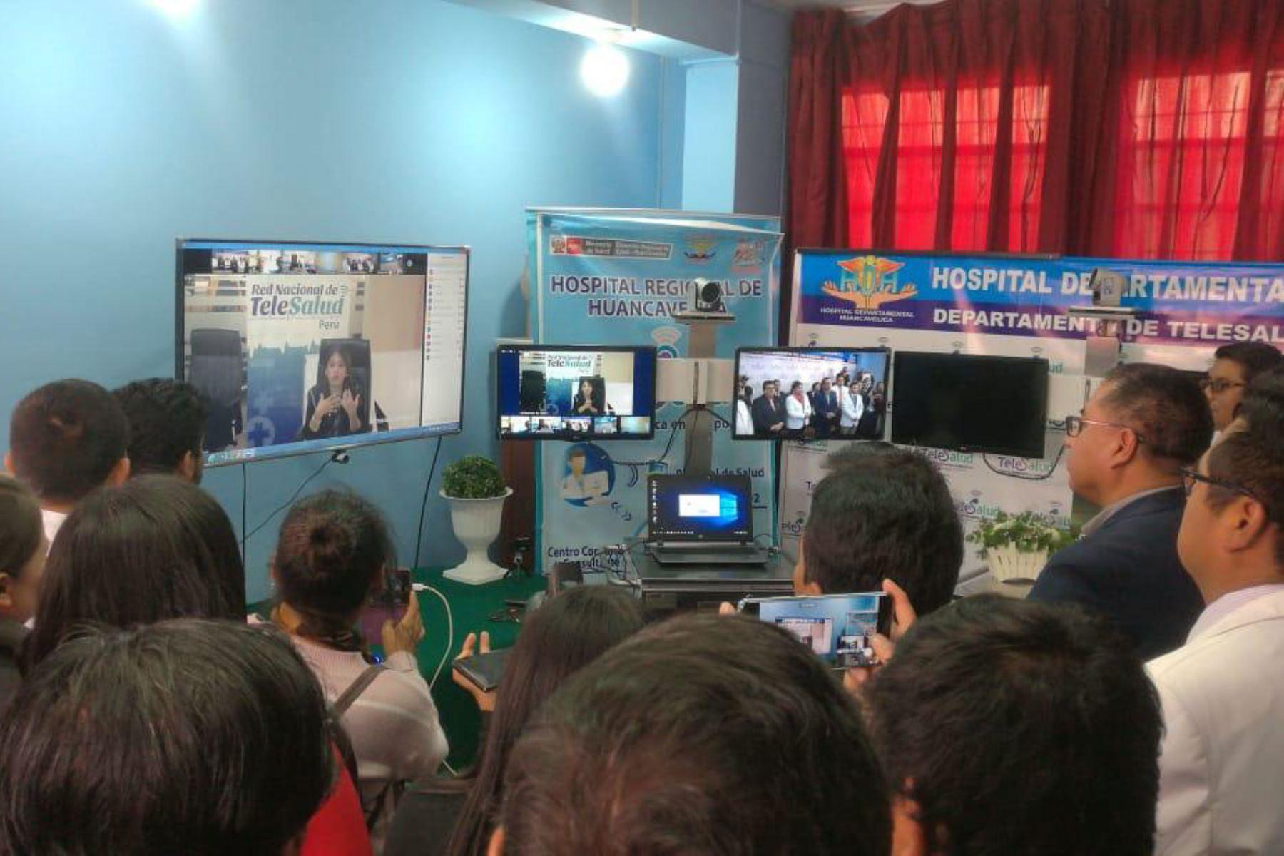 Implementan teleconferencias para prevenir enfermedades por bajas temperaturas. ANDINA/Difusión