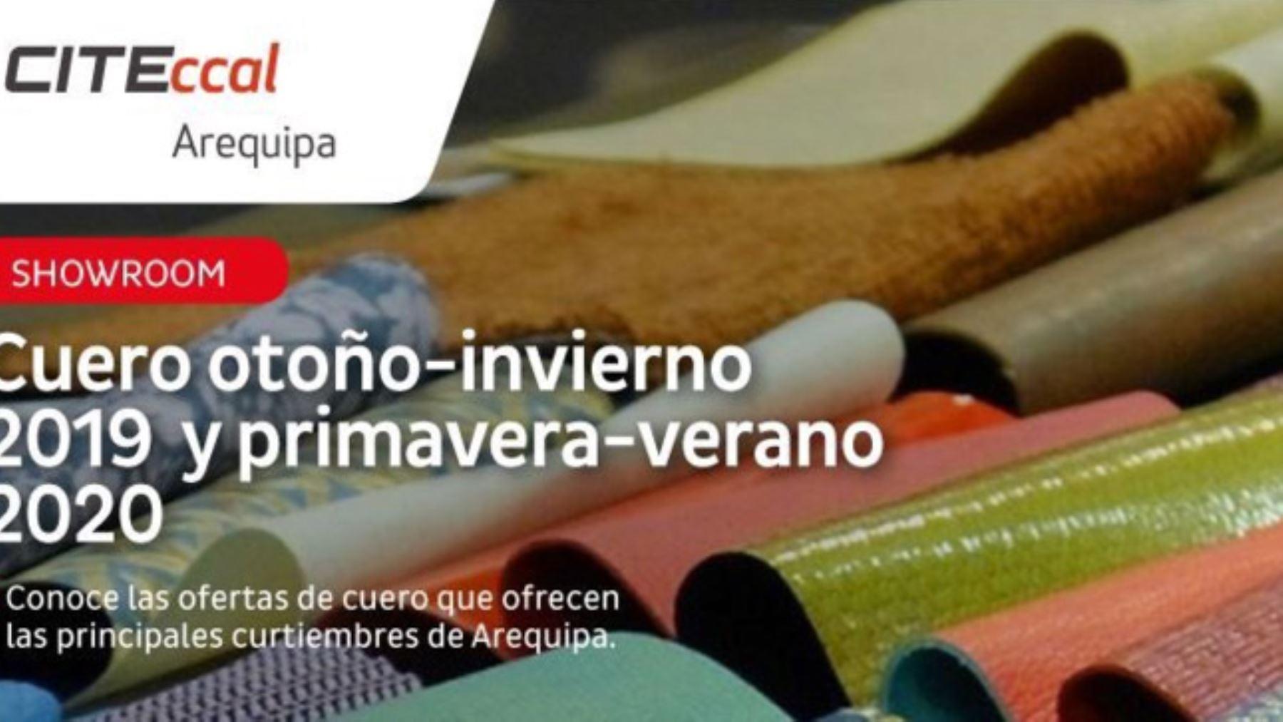 Arequipa: presentarán tendencia de cuero para calzado invierno 2019 y verano 2020