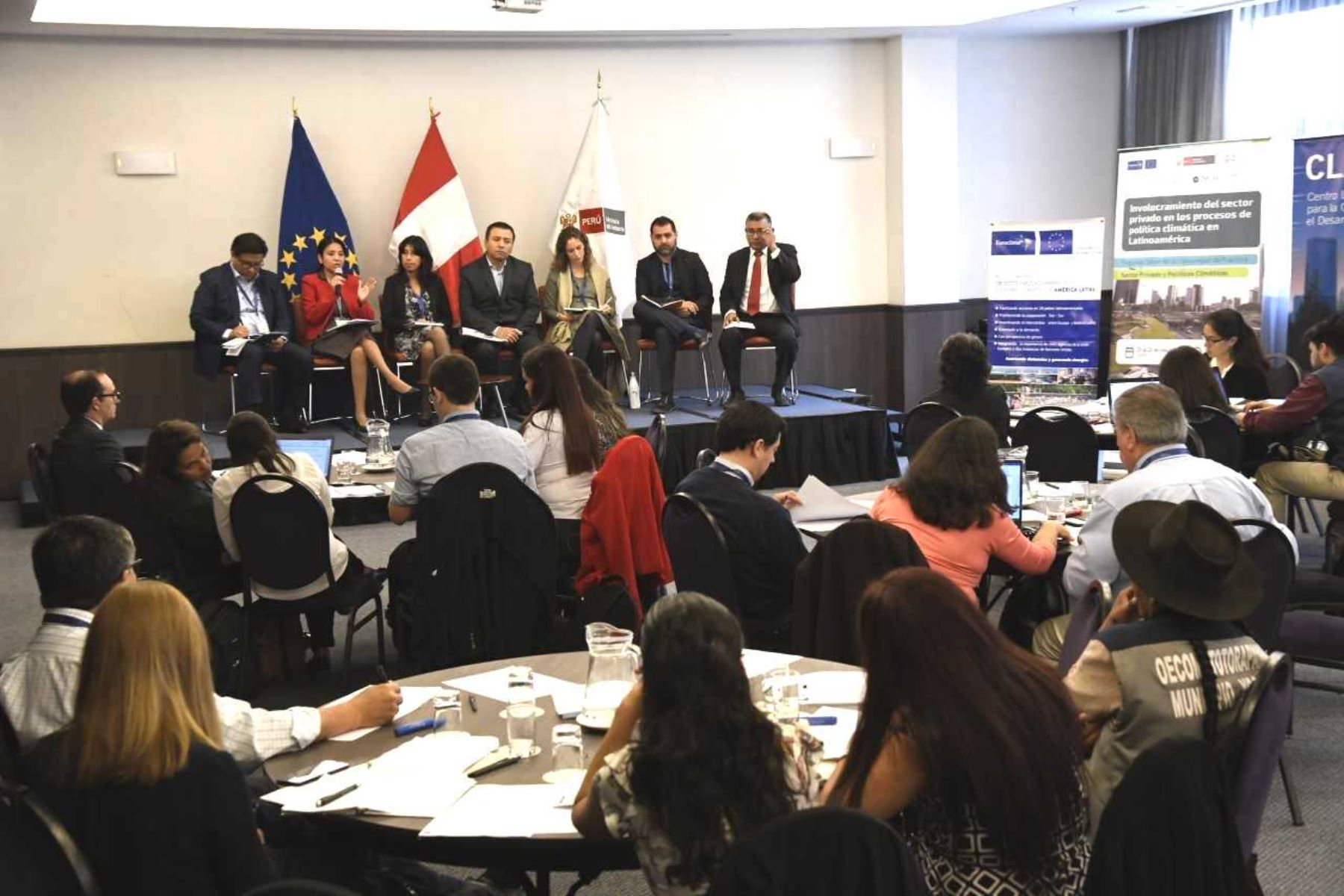 Representantes de 8 países de América se reunieron para impulsar acción climática. Foto: ANDINA/Difusión.