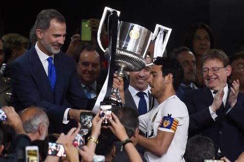 Valencia gana la Copa del Rey y deja al Barcelona sin doblete