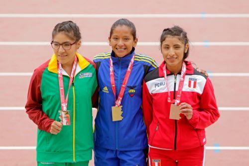 Perú obtiene su primera medalla en el Sudamericano de atletismo