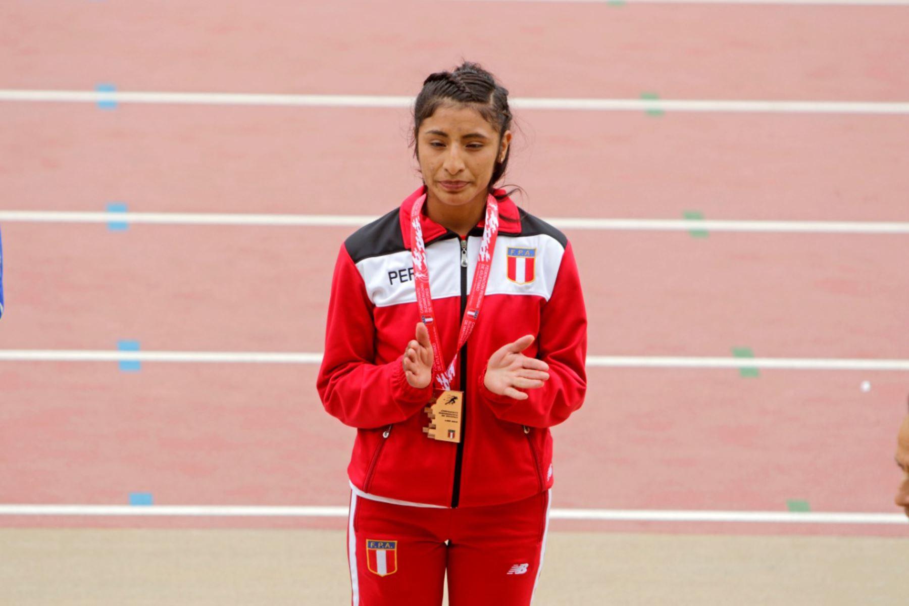 La marchista nacional Leyde Guerra deportista nacional que clasifica a los Juegos Olímpicos Tokio 2020 en Marcha Atlética. Foto: ANDINA/IPD