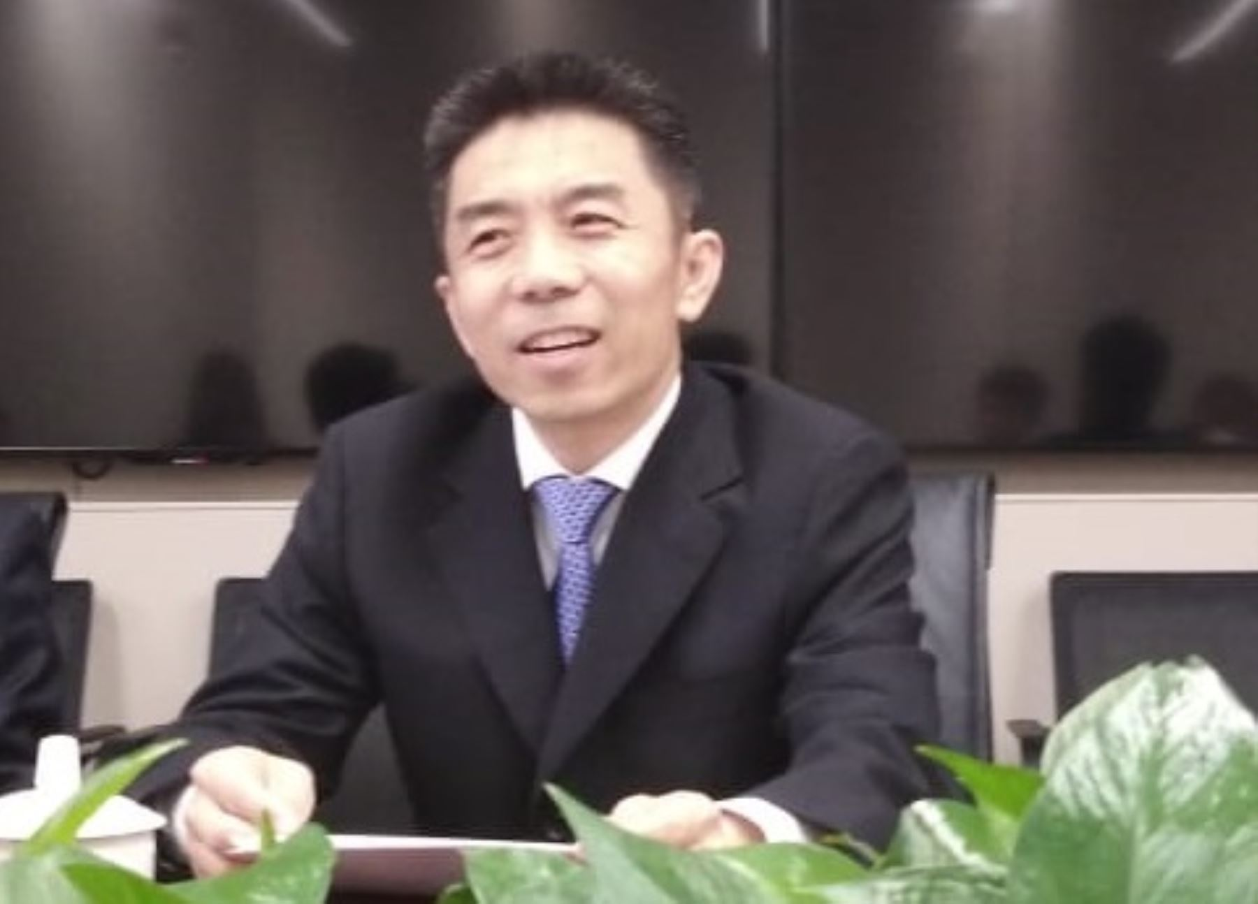 Huang Jinyuan, vicepresidente ejecutivo de CLAI Fund de China.
