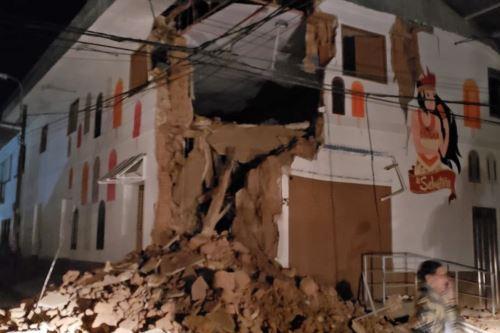Un sismo de magnitud 7.5 sacudió esta madrugada la localidad de Lagunas, provincia de Alto Amazonas, región Loreto