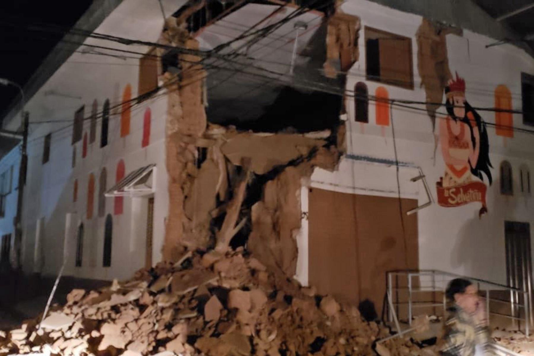 Prorrogan el estado de emergencia en Loreto y otras regiones afectadas por sismo de magnitud 8.0. Twitter