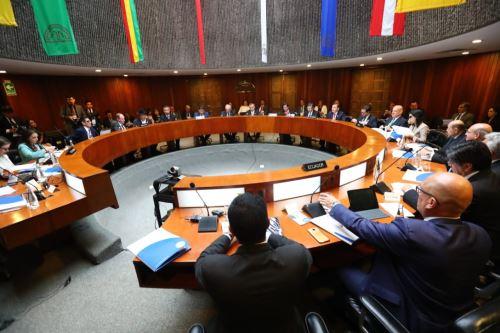 XLV Consejo Andino de Ministros de Relaciones de la Comunidad Andina CAN