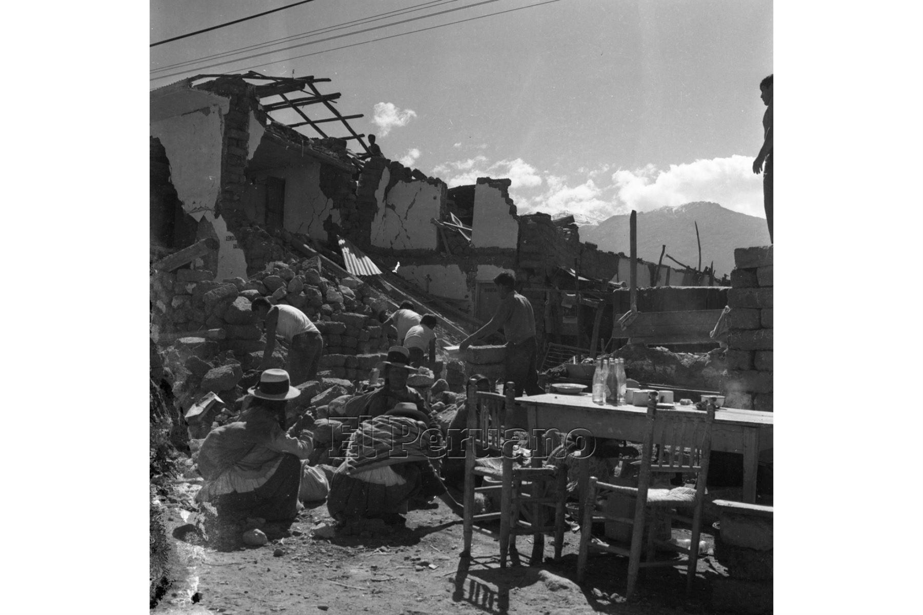 Ancash - 1 junio 1970 / Terremoto de Yungay 1970.