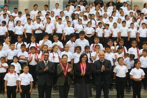 Primeras damas de Perú y Ecuador destacan iniciativas para promover la cultura a todos los niños y niñas del Perú