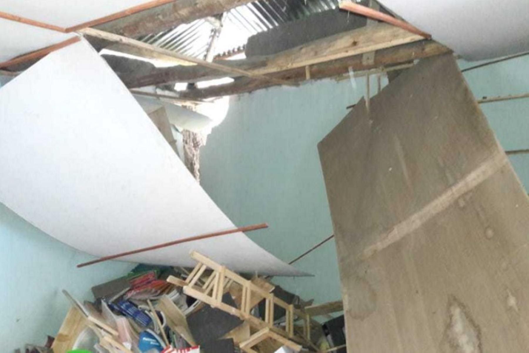 Al menos 35 viviendas, 57 instituciones educativas y una comisaría resultaron afectadas en la región La Libertad, a causa del sismo de magnitud 8.0 ocurrido en el distrito de Lagunas, provincia de Alto Amazonas, informó el Centro de Operaciones de Emergencia Regional (COER) La Libertad.