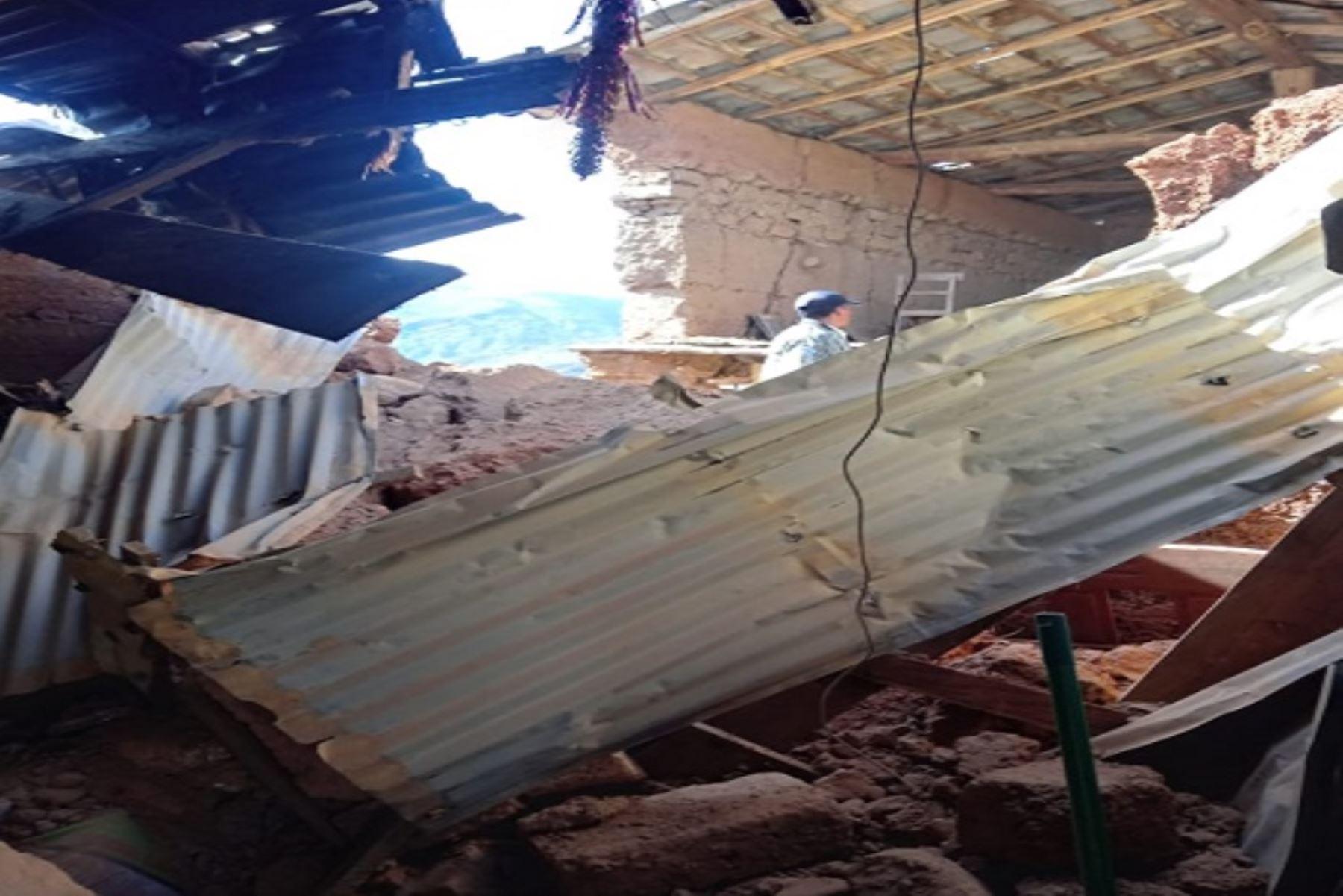 Aumenta a dos el número de fallecidos por fuerte sismo en Loreto. ANDINA/Difusión
