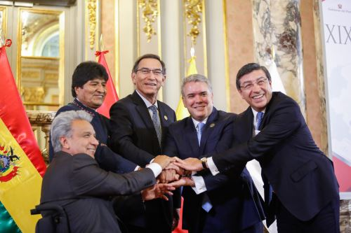 Cumbre Presidencial por los 50 años de la   La Comunidad Andina de Naciones (CAN)